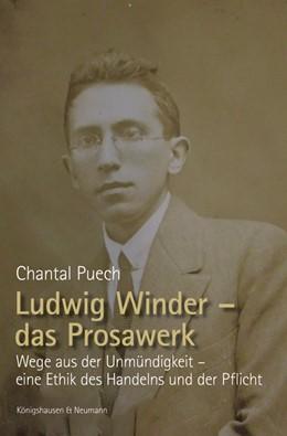 Abbildung von Puech   Ludwig Winder – das Prosawerk   1. Auflage   2019   beck-shop.de