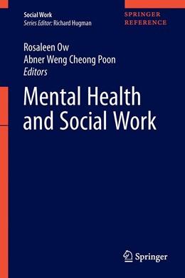 Abbildung von Ow / Poon | Mental Health and Social Work | 1. Auflage | 2020 | beck-shop.de