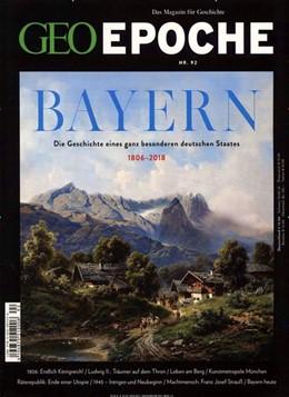 Abbildung von Schaper | GEO Epoche / GEO Epoche 92/2018 - Bayern | 2018