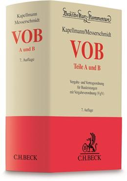 Abbildung von Kapellmann / Messerschmidt | VOB Teile A und B | 7. Auflage | 2020 | Band 58 | beck-shop.de