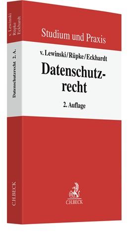 Abbildung von Rüpke / v. Lewinski / Eckhardt | Datenschutzrecht | 2. Auflage | 2020 | Grundlagen und europarechtlich...