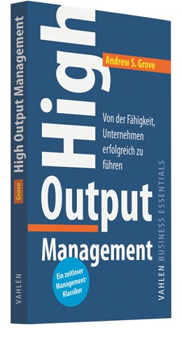 Abbildung von Grove | High Output Management | 1. Auflage | 2020 | beck-shop.de