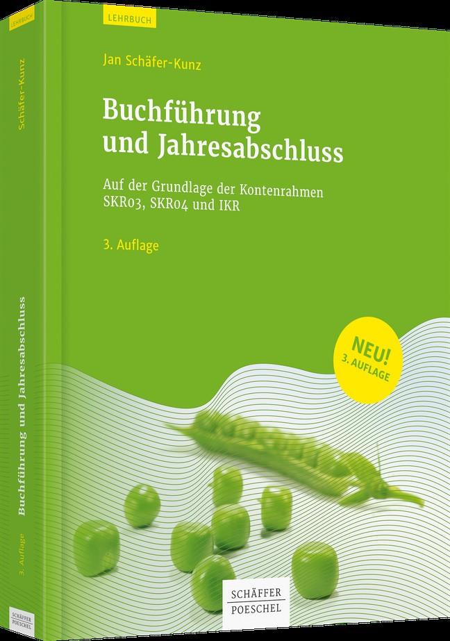 Abbildung von Schäfer-Kunz   Buchführung und Jahresabschluss   3. überarbeitete Auflage 2019   2019