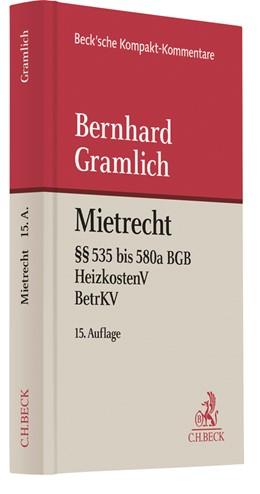 Abbildung von Gramlich | Mietrecht | 15., neu bearbeitete Auflage | 2019 | Bürgerliches Gesetzbuch (§§ 53...