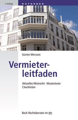 Abbildung von Mersson | Vermieterleitfaden | 7. Auflage | 2020 | Aktuelles Mietrecht, Mustertex... | 51243