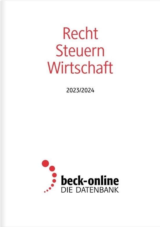 Gesamtverzeichnis beck-online.DIE DATENBANK, 2014 (Cover)