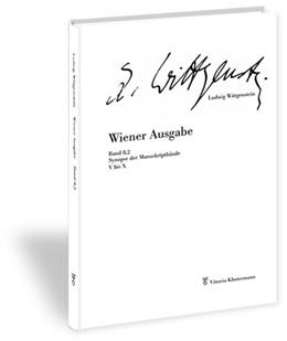 Abbildung von Wittgenstein / Nedo | Wiener Ausgabe | 2019 | 2019 | Band 8.2: Synopse der Manuskri... | 8,2