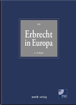 Abbildung von Süß | Erbrecht in Europa | 4. Auflage | 2019
