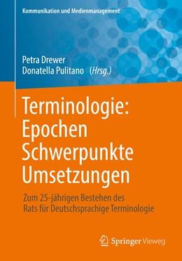 Abbildung von Drewer / Pulitano | Terminologie : Epochen - Schwerpunkte - Umsetzungen | 2019 | Zum 25-jährigen Bestehen des R...
