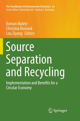 Abbildung von Maletz / Dornack / Ziyang | Source Separation and Recycling | Softcover reprint of the original 1st ed. 2018 | 2019 | Implementation and Benefits fo... | 63