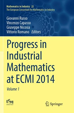Abbildung von Russo / Capasso | Progress in Industrial Mathematics at ECMI 2014 | 1. Auflage | 2018 | 22 | beck-shop.de