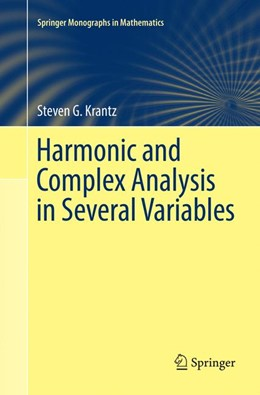 Abbildung von Krantz | Harmonic and Complex Analysis in Several Variables | Softcover reprint of the original 1st ed. 2017 | 2018