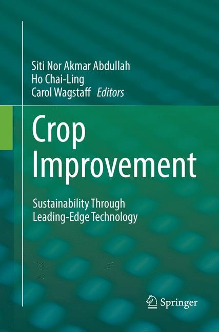 Abbildung von Abdullah / Chai-Ling / Wagstaff | Crop Improvement | Softcover reprint of the original 1st ed. 2017 | 2018