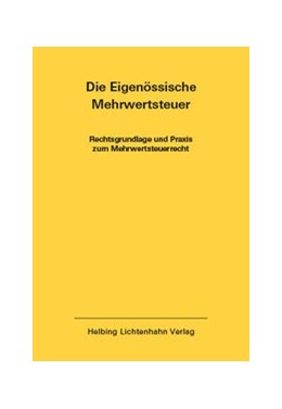 Abbildung von Imstepf / Seiler   Die Eidgenössische Mehrwertsteuer EL 42   1. Auflage   2019   42   beck-shop.de