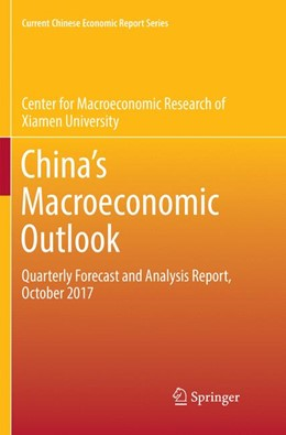 Abbildung von Center for Macroeconomic Research of | China's Macroeconomic Outlook | Softcover reprint of the original 1st ed. 2018 | 2019