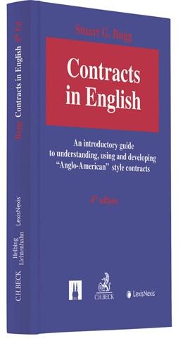 Abbildung von Bugg | Contracts in English | 4. Auflage | 2020 | beck-shop.de