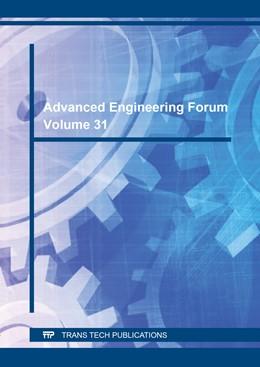 Abbildung von Advanced Engineering Forum Vol. 31 | 2019 | Volume 31