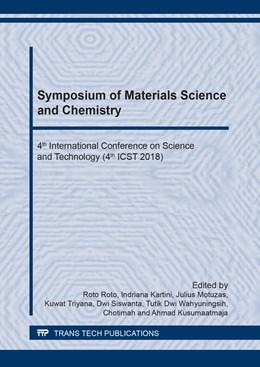 Abbildung von Roto / Kartini   Symposium of Materials Science and Chemistry   1. Auflage   2019   Volume 948   beck-shop.de