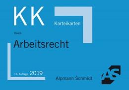 Abbildung von Haack | Karteikarten Arbeitsrecht | 14. Auflage | 2019 | beck-shop.de