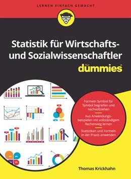 Abbildung von Krickhahn | Statistik für Wirtschafts- und Sozialwissenschaftler für Dummies | 2. Auflage | 2019 | beck-shop.de