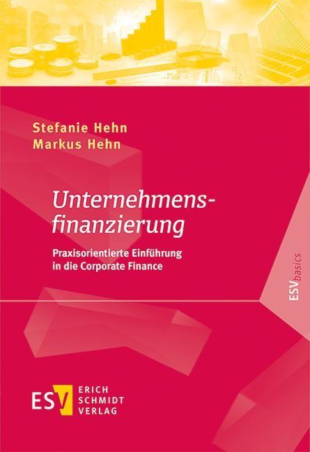 Unternehmensfinanzierung   Hehn / Hehn, 2019   Buch (Cover)