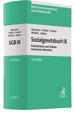 Abbildung von Neumann / Pahlen / Winkler / Jabben / Greiner | Sozialgesetzbuch IX: SGB IX | 14. Auflage | 2020 | Rehabilitation und Teilhabe be... | Band 10