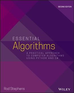 Abbildung von Stephens   Essential Algorithms   2. Auflage   2019   A Practical Approach to Comput...