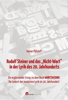 Abbildung von Patzlaff | Rudolf Steiner und das