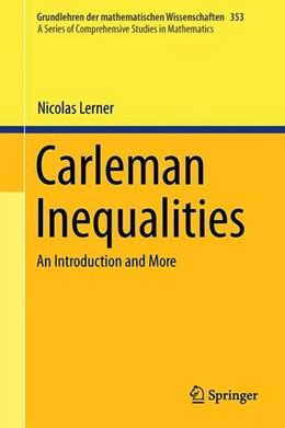 Abbildung von Lerner | Carleman Inequalities | 1st ed. 2019 | 2019 | An Introduction and More | 353