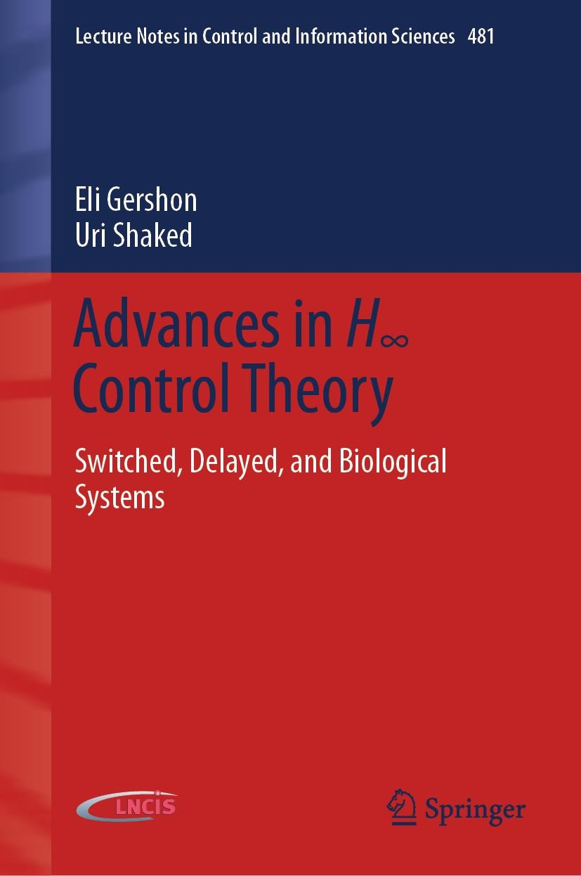 Abbildung von Gershon / Shaked | Advances in H8 Control Theory | 1st ed. 2020 | 2019