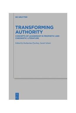 Abbildung von Pyschny / Schulz   Transforming Authority   1. Auflage   2021   beck-shop.de