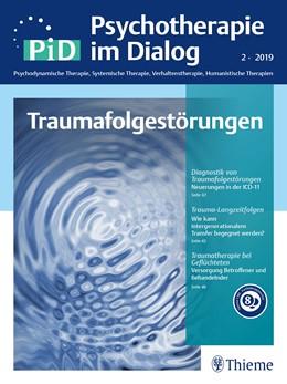 Abbildung von Psychotherapie im Dialog – Traumafolgestörungen   1. Auflage   2019   beck-shop.de