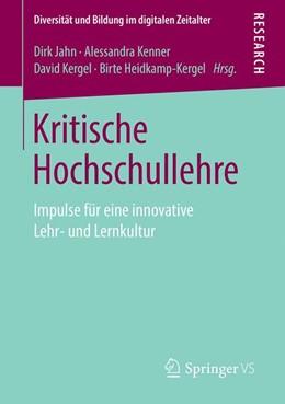 Abbildung von Jahn / Kenner   Kritische Hochschullehre   1. Auflage   2019   beck-shop.de