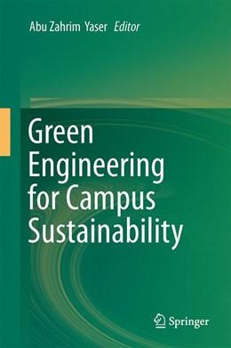 Abbildung von Yaser | Green Engineering for Campus Sustainability | 1st ed. 2020 | 2019