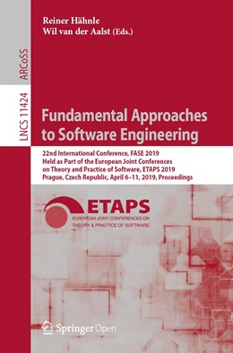 Abbildung von Hähnle / van der Aalst | Fundamental Approaches to Software Engineering | 1. Auflage | 2019 | beck-shop.de