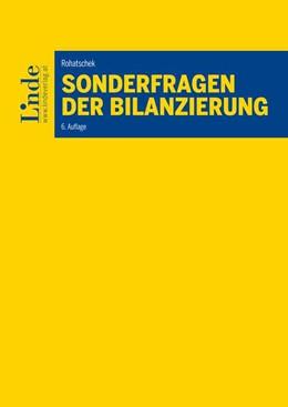 Abbildung von Rohatschek | Sonderfragen der Bilanzierung | 6. Auflage | 2019 | beck-shop.de