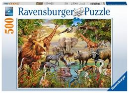 Abbildung von Am Wasserloch 500 Teile Puzzle | 1. Auflage | 2019 | beck-shop.de