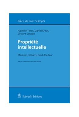Abbildung von Tissot / Kraus / Salvadé   Propriété intellectuelle   2019   Marques, brevets, droit d'aute...