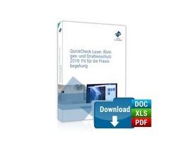 Abbildung von QuickCheck Laser-, Röntgen- und Strahlenschutz 2019: Fit für die Praxisbegehung | 1. Auflage | 2019 | beck-shop.de