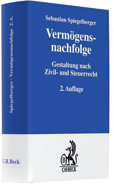 Vermögensnachfolge | Spiegelberger | 2. Auflage, 2010 (Cover)
