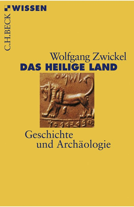 Cover: Wolfgang Zwickel, Das Heilige Land