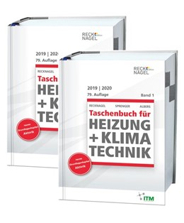 Abbildung von Albers | Recknagel - Taschenbuch für Heizung und Klimatechnik 79. Ausgabe 2019/2020 - Premiumversion | 79. Auflage | 2018 | einschließlich Trinkwasser- un...