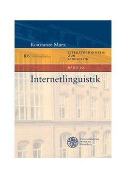 Abbildung von Marx | Internetlinguistik Band 10 | 2019