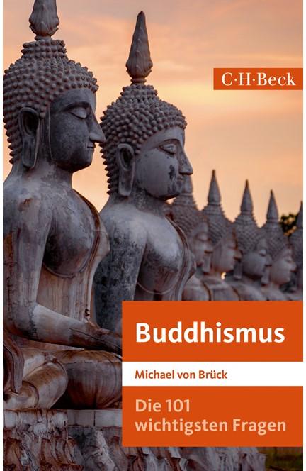 Cover: Michael Brück, Die 101 wichtigsten Fragen: Buddhismus