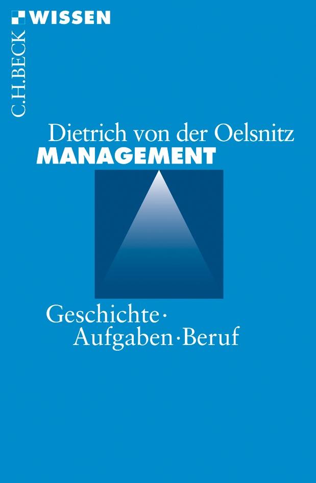 Management   Oelsnitz, Dietrich von der, 2009   Buch (Cover)