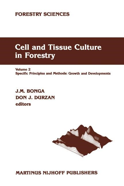 Abbildung von Bonga / Durzan | Cell and Tissue Culture in Forestry | 1987 | 1986