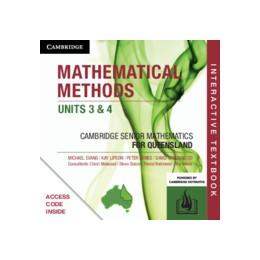 Abbildung von Evans / Lipson / Jones | CSM QLD Mathematical Methods Units 3 and 4 Digital (Card) | 2019