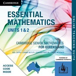 Abbildung von Capps / Butler / Burton | CSM QLD Essential Mathematics Units 1 and 2 Online Teaching Suite (Card) | 2019