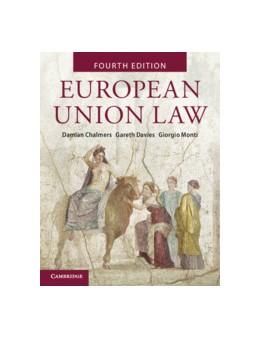 Abbildung von Chalmers / Davies / Monti   European Union Law   2019   Text and Materials
