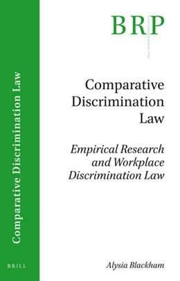Abbildung von Blackham | Empirical Research and Workplace Discrimination Law | 2019